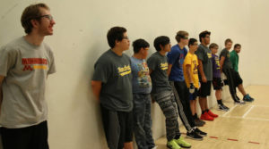 MN Youth Handball U of M handball clinic
