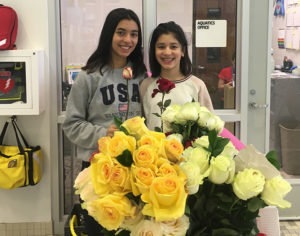 Roses delivered in the community